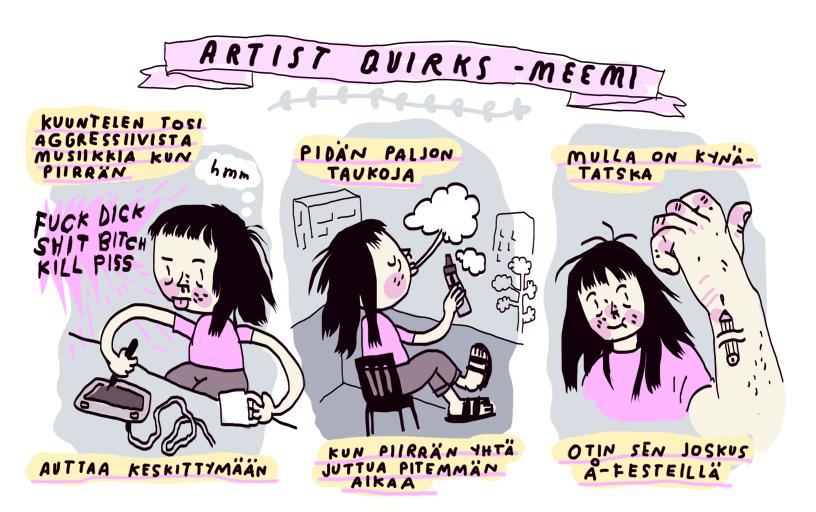 artistquirks